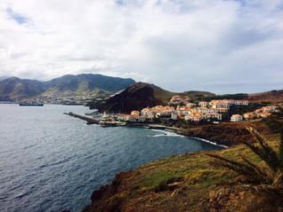 Over de Atlantische Oceaan naar Madeira
