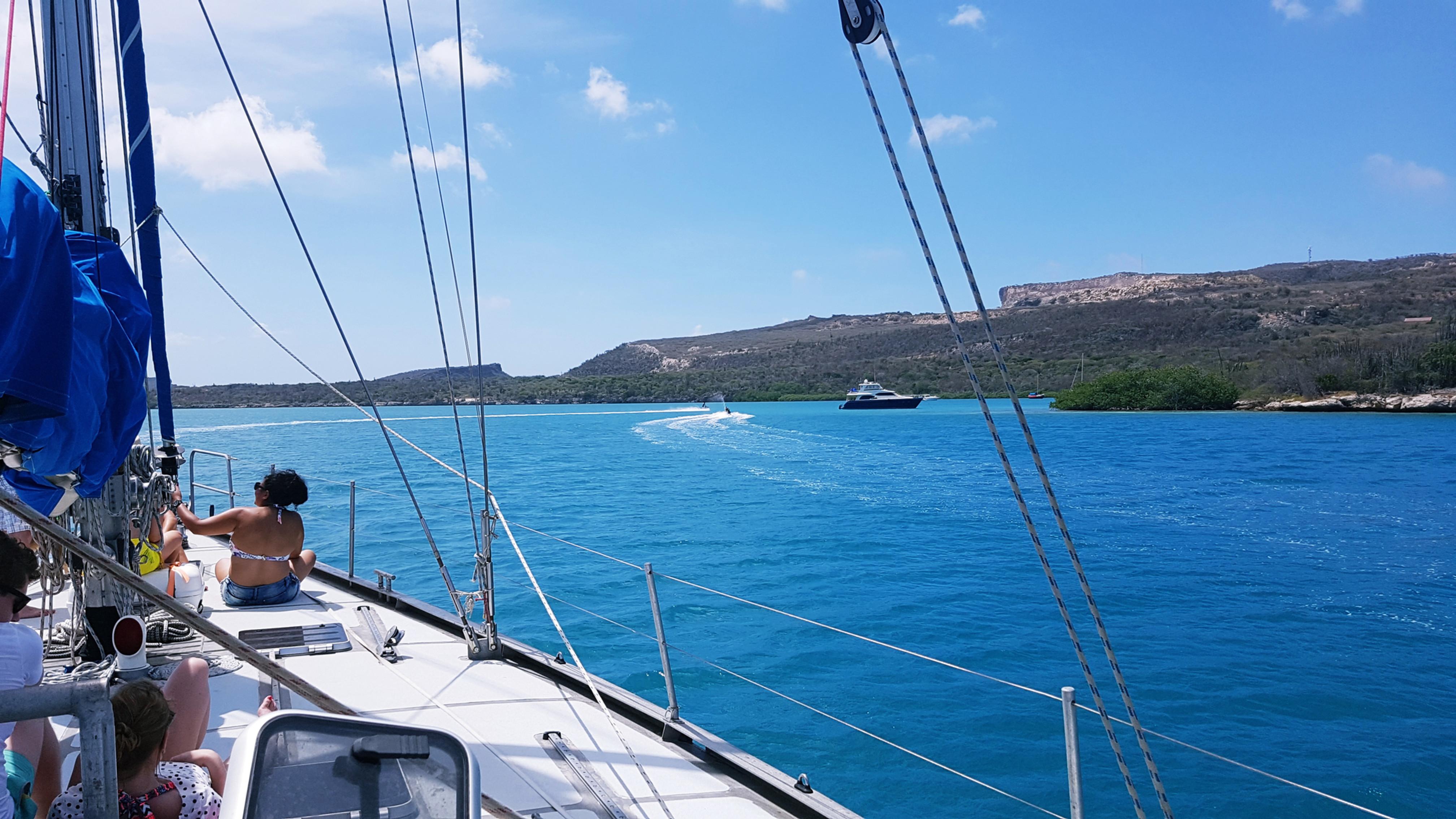 Privé boot naar Fuikbaai