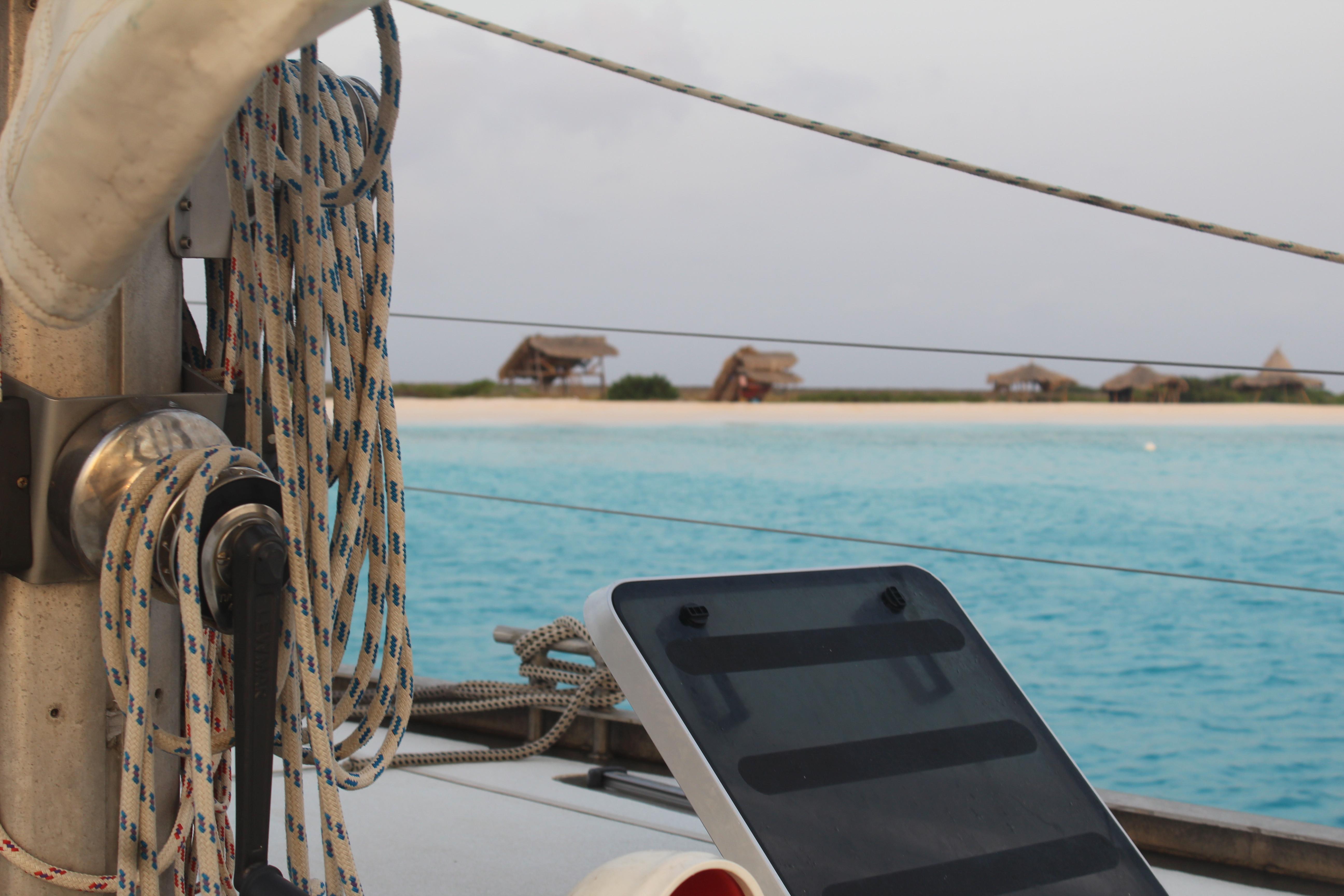 Privé boot naar Klein Curacao