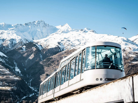 Bourg-Saint-Maurice Les Arcs ouvre son funiculaire !