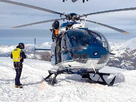 Drones, localisation des smartphones : le secours en montagne innove