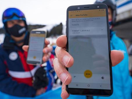 Les forfaits sur Smartphone testés à Prapoutel les Sept Laux