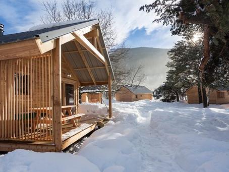 Huttopia : 6 chalets nature pour réussir votre séjour au ski
