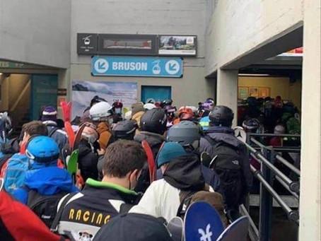Les stations de ski suisses en sursis, en cause la prise d'assaut par les skieurs