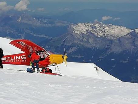 Mont-Blanc et aviation de loisir : Meetings aériens sur les glaciers