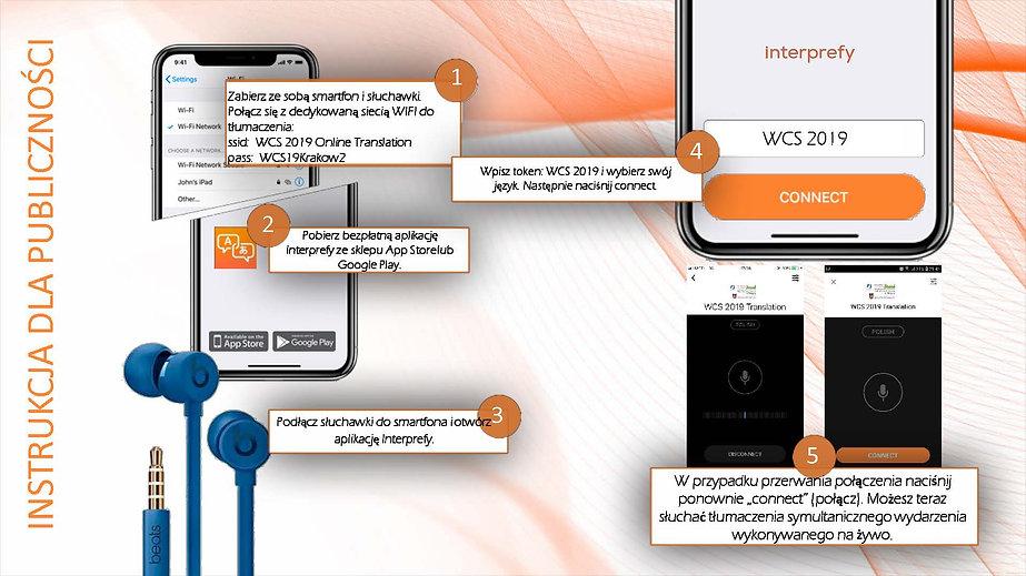 Interprefy User Guide -- WCS 2019 Polski