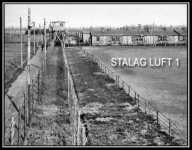 Stalag Luft I POW camp - Barth, Germany.
