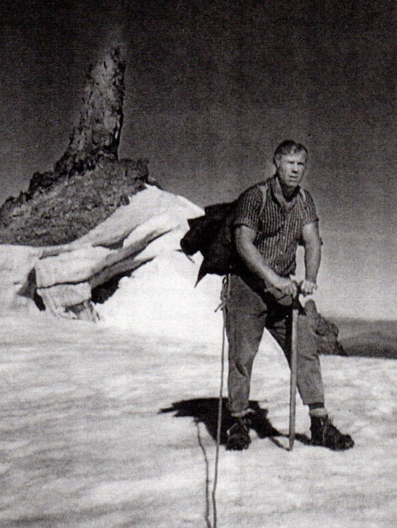 Ed, the Mountaineer.
