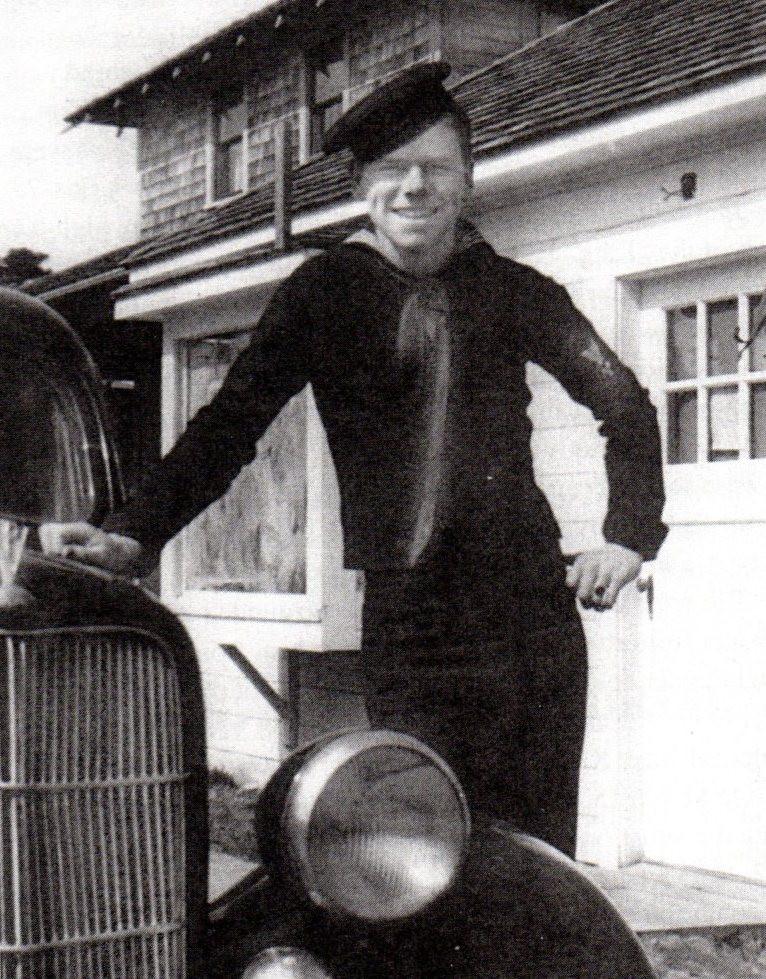 Seaman Ed Johann , about 1940.
