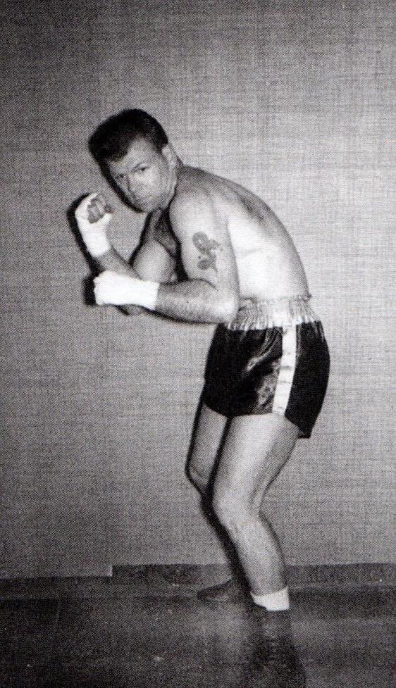Ed as an amateur  boxer.