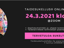Kaikille avoin Taidesukellus Online -ryhmä 24.3.2021 klo 12-15!