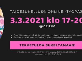 Avoin Taidesukellus Online 3.3. klo 17-20
