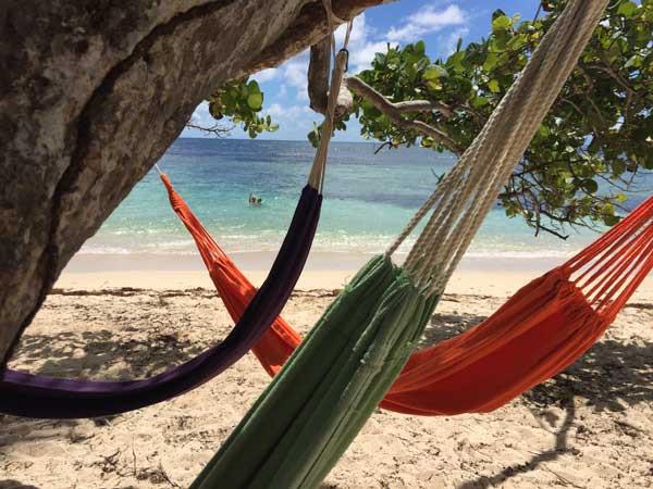 farniente à Petite Anse