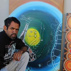 Frank Wright - Aboriginal Art Workshops