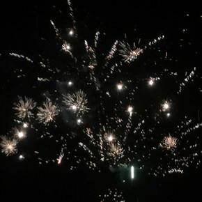 Fireworks Display - Saturday night