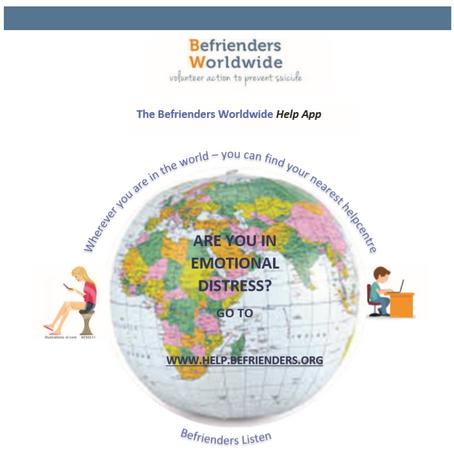 New resource from The Befrienders Worldwide