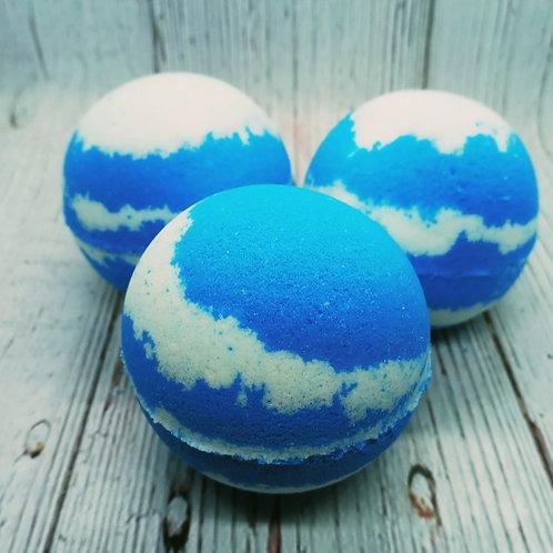 Blueberry Cheesecake Bath Bombs