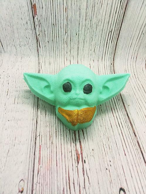 Baby Yoda Bath Bombs