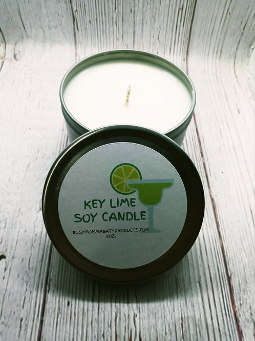 Key Lime Soy Candles