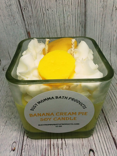 Banana Cream Pie Soy Candles