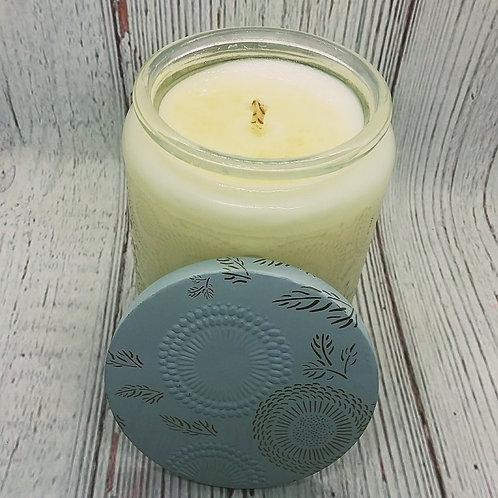 Green Tea Cucumber Soy Candles