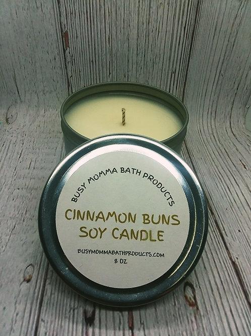 Cinnamon Bun Soy Candles