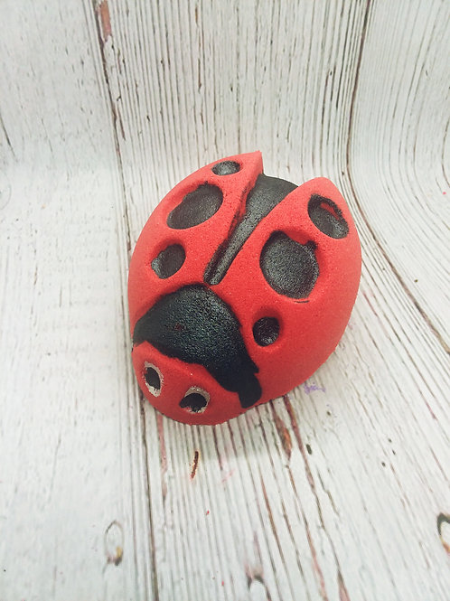 Lady Bug Bath Bombs