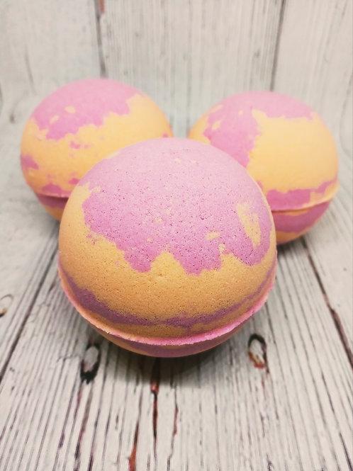White Peach Sangria Bath Bombs