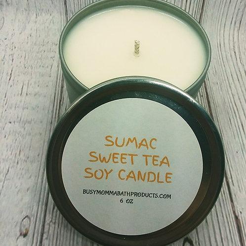 Sumac Sweet Tea Soy Candles