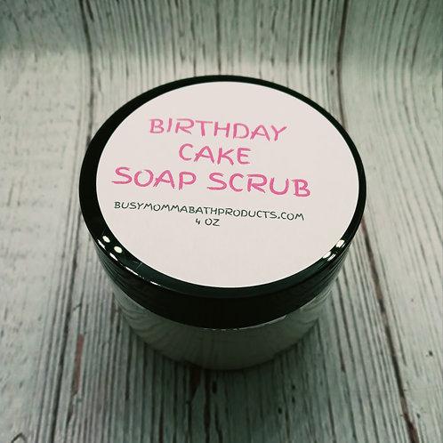 Birthday Cake Soap Scrub