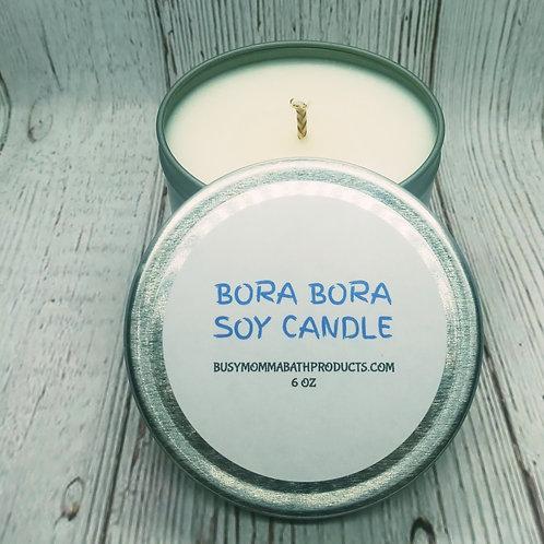 Bora Bora Soy Candles