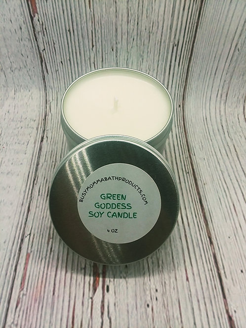 Green Goddess Soy Candles
