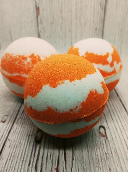 Orange Sherbet Bath Bombs