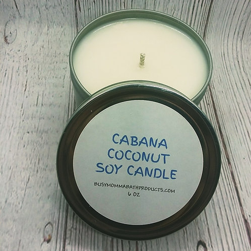 Cabana Coconut Soy Candles