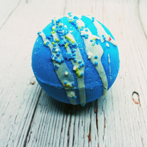 Cotton Candy Bath Bombs