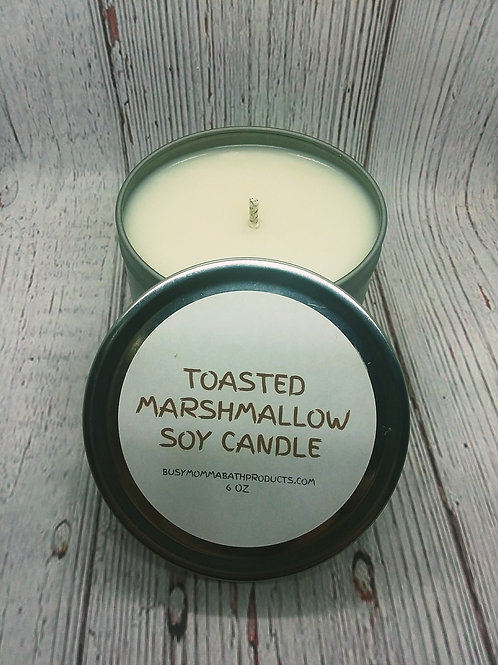 Toasted Marshmallow Soy Candles