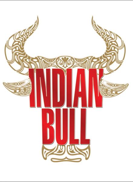 Logo for 'Indian Bull' Rum