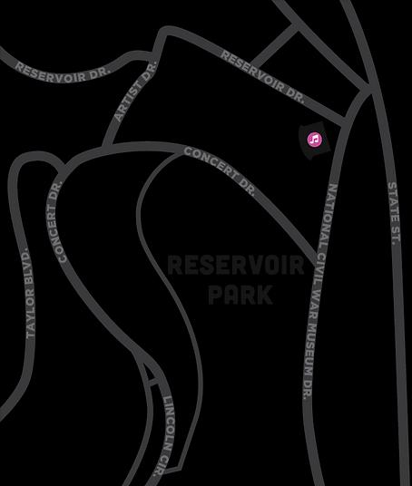 Reservoir Park Vendor Map
