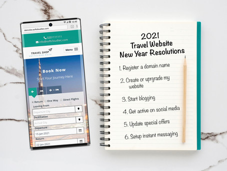 2021 Travel Website New Year Resolutions