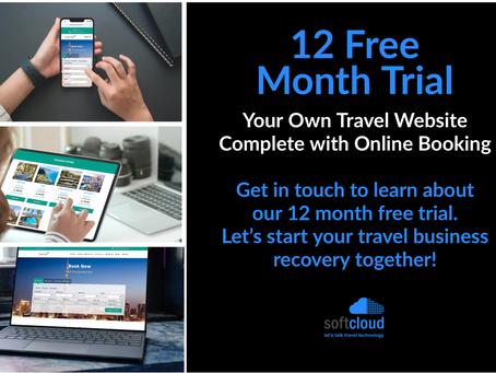 Free Travel Website & Booking Engine