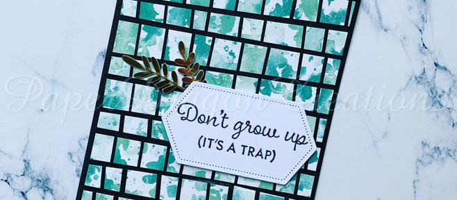 Don't Grow Up! (It's a trap)
