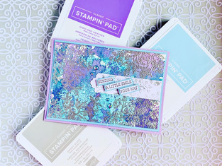 Balmy Blue, Highland Heather and Smoky Slate Colour Challenge