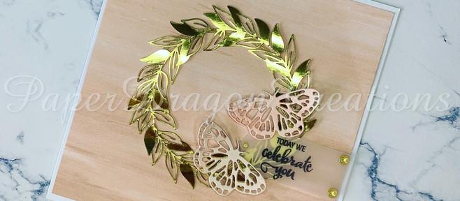 Fluttering Butterfly wreath