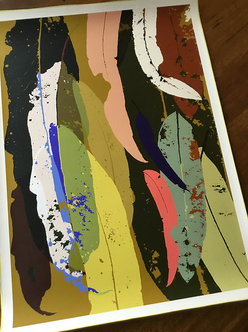 Limited Edition A1 print Print 'Eucalyptus Gold  2021'