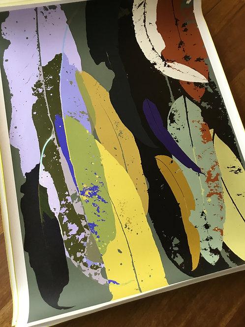 Limited Edition A1 print Print 'Eucalyptus Olive + Lavender 2021'