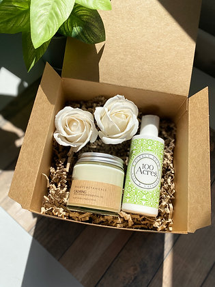 Calming Candle Gift Box