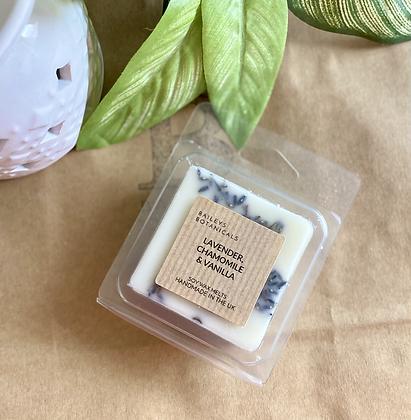 Lavender, Chamomile & Vanilla Soy Wax Clamshell