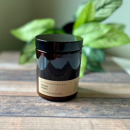 Fresh Linen Amber Jar Candle