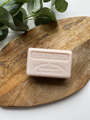 Cotton Flower French Soap