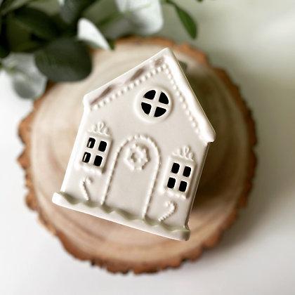 Gingerbread House Tea Light Holder